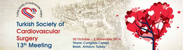 13th Congress for Turkish Society of Cardiovascular Surgery