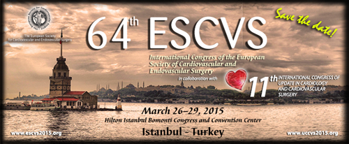 64th ESCVS International Congress of the European Society of Cardiovascular and Endovascular Surgery and 11th UCCVS