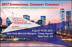 ISMICS is pleased to co-sponsor the International Coronary Congress