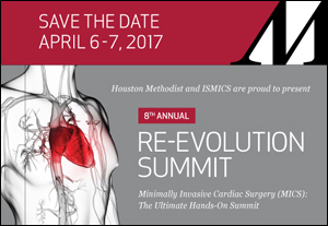 8th Annual Re-Evolution Summit, Minimally Invasive Cardiac Surgery (MICS)
