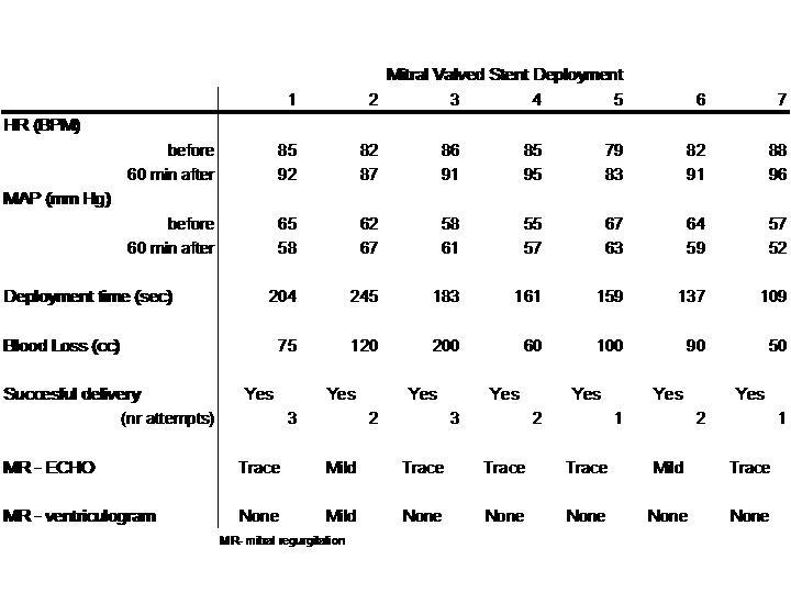 ISMICS - Hybrid Transcatheter Mitral Valve Replacement
