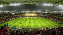 Champions League Premier Stadium of the Warsaw Football Club