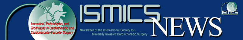 ISMICS, The International Society for Minimally Invasive Cardiothoracic Surgery